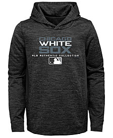 Outerstuff Chicago White Sox Team Drive Fleece Hoodie, Big Boys (8-20)