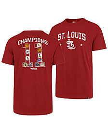 '47 Brand Men's St. Louis Cardinals Coop MVP Collection T-Shirt
