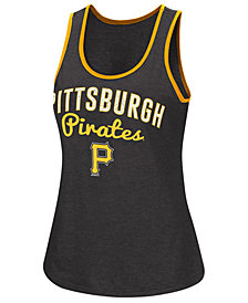 G-III Sports Women's Pittsburgh Pirates Power Punch Glitter Tank
