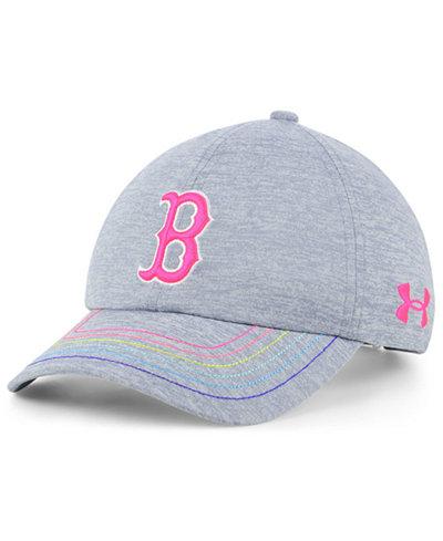 Under Armour Girls' Boston Red Sox Renegade Twist Cap