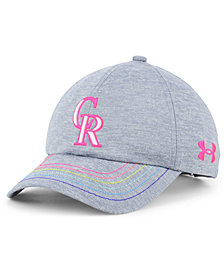 Under Armour Girls' Colorado Rockies Renegade Twist Cap