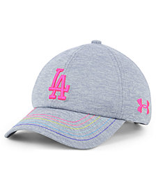 Under Armour Girls' Los Angeles Dodgers Renegade Twist Cap
