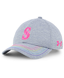 Under Armour Girls' Seattle Mariners Renegade Twist Cap