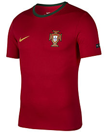 Nike Men's Portugal National Team Ringer Crest T-Shirt