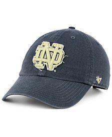 '47 Brand Notre Dame Fighting Irish Double Out CLEAN UP Cap