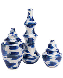 Zuo Pinto Blue & White Vase Collection