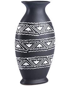 Zuo Kolla Black & White Large Vase