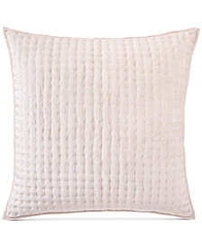 Hotel Collection Velvet Quilted European Sham, Created for Macy's