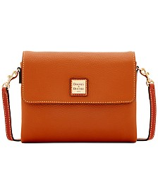 Dooney & Bourke Hunter Pebble Leather Crossbody