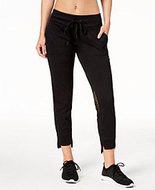 Calvin Klein Performance Slim-Fit Step-Hem Jersey Joggers