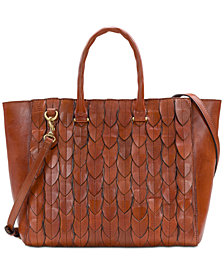 Patricia Nash Feather Leaves Mariola Tote