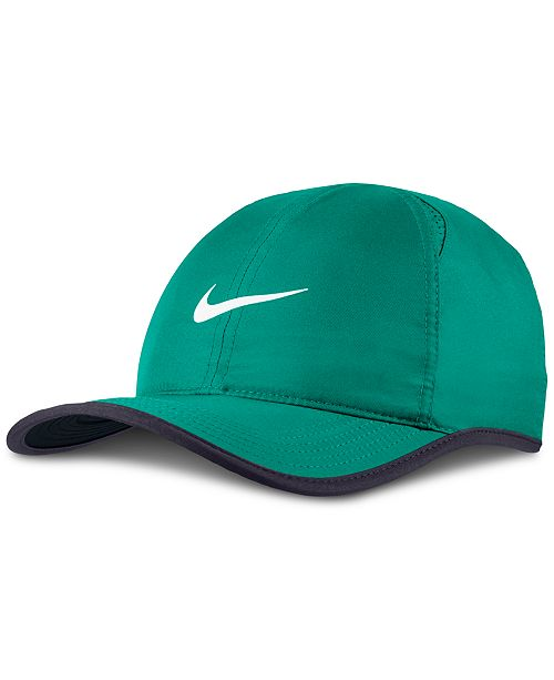 Nike Men s Court AeroBill Featherlight Tennis Hat - All Activewear ... 35d7c780eb4