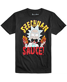 Rick and Morty Szechuan Sauce Men's T-Shirt by New World