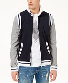 A|X Armani Exchange Men's Varsity Jacket