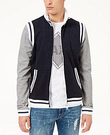 A|X Armani Exchange Men's Varsity Jacket
