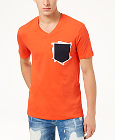 A|X Armani Exchange Men's V-Neck Pocket T-Shirt