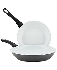 Farberware PURECOOK 2-Pc. Ceramic Non-Stick Skillet Set