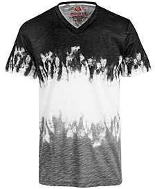 American Rag Men's V-Neck Tie Dye T-Shirt, Created for Macy's