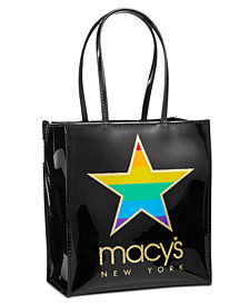 Macy's Graphic Tote Bag