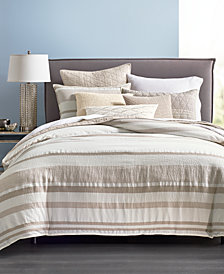 Hotel Collection Honeycomb King Duvet Cover, Created for Macy's