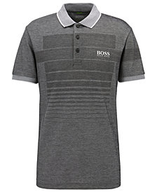 BOSS Men's Regular/Classic-Fit Patterned Polo Shirt