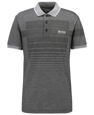 Boss Men's Regular/Classic-Fit Patterned Polo Shirt