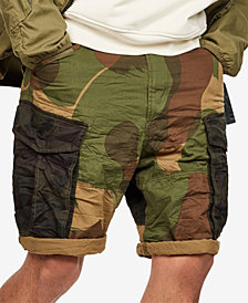 G-Star RAW Men's Camo Cargo Shorts