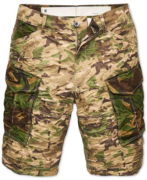 G-Star Raw Men's Camo Cargo Shorts