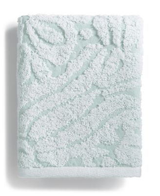 LAST ACT! Sculpted Cotton Hand Towel