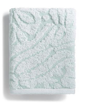 Sculpted Cotton Hand Towel