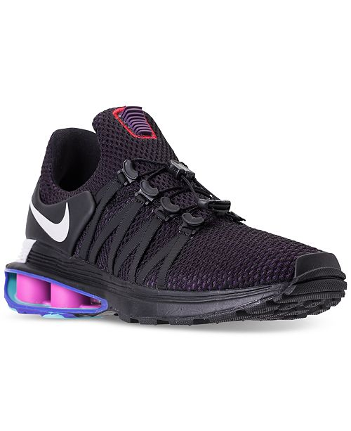hot sale online 28862 34145 ... Nike Men s Shox Gravity Casual Sneakers from Finish ...