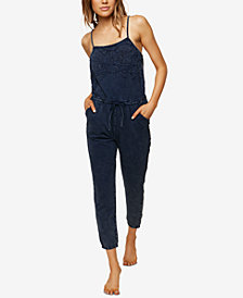 O'Neill Juniors' Starfire Embroidered Adjustable Jumpsuit