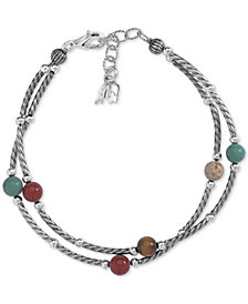 American West Multi-Stone Double Strand Bracelet (8-3/4 ct. t.w.) in Sterling Silver