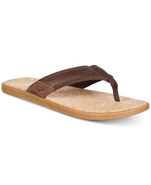 dfe650e16 UGG® Men s Seaside Flip Flops   Reviews - All Men s Shoes - Men ...