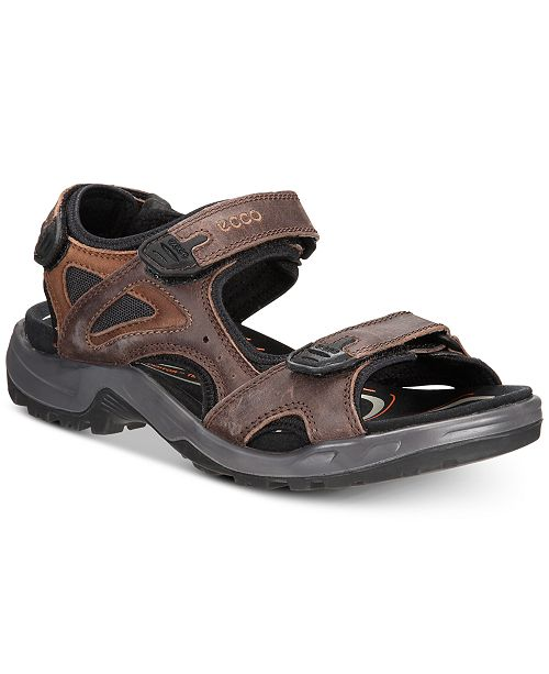 cb64ee6b7 Ecco Men s Off Road Sandals   Reviews - All Men s Shoes - Men - Macy s