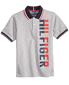 Tommy Hilfiger Big Boys Tommy Logo-Print Polo