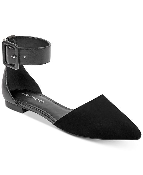 e1d8eef81d4 Marc Fisher Alfoso Pointed-Toe Flats   Reviews - Flats - Shoes - Macy s