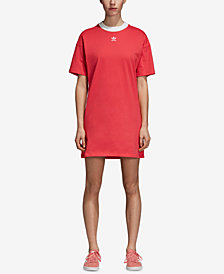 adidas Originals Adicolor Cotton T-Shirt Dress
