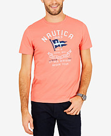 Nautica Men's Sea Division Logo-Print T-Shirt