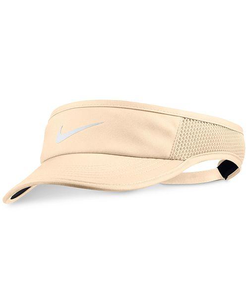 6b5c20ce69a Nike Court AeroBill Tennis Visor - Women s Brands - Women - Macy s
