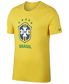 Men's Brazil National Team Crest T-Shirt