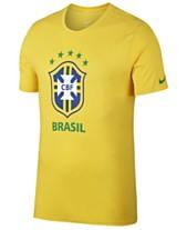 85e834ca0a27c Nike Men's Brazil National Team Crest T-Shirt