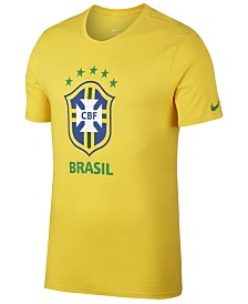 Nike Men's Brazil National Team Crest T-Shirt
