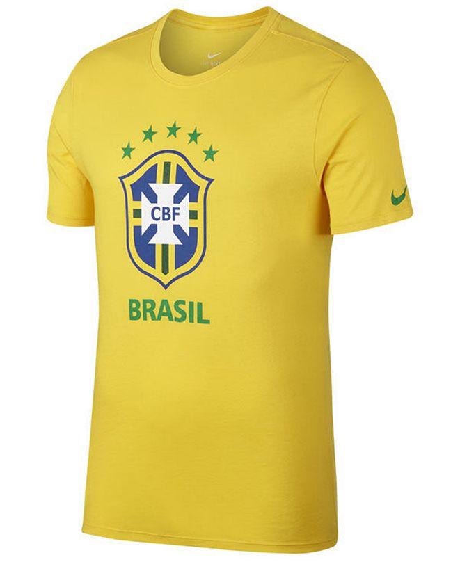 Nike Men's Brazil National Team Crest T-Shirt