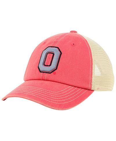 Top of the World Ohio State Buckeyes Wicker Mesh Cap