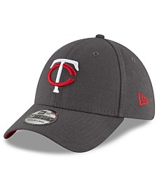 New Era Minnesota Twins Charcoal Classic 39THIRTY Cap