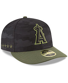 New Era Los Angeles Angels Memorial Day Low Profile 59FIFTY FITTED Cap
