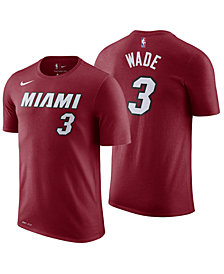 Nike Men's Dwyane Wade Miami Heat Statement Player T-Shirt