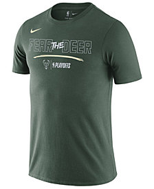 Nike Men's Milwaukee Bucks Playoff Mantra Legend T-Shirt