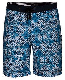 "Hurley Men's Groovy Printed 20"" Board Shorts"